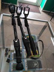 Монопод Юнтенг Yunteng YT-188 Прорезиненная ручка Влагостойкий Моноп