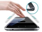 Защитное стекло для Samsung S7 Edge на весь экран противоударное Nano