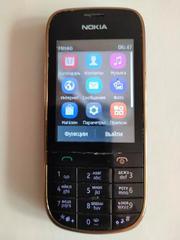 Телефон Nokia 202 б/у. сенсорный экран.